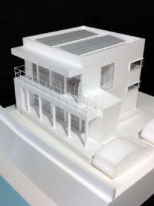 江迎川住宅プロジェクト:模型