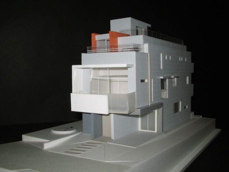 妙蓮寺ハウス:模型1