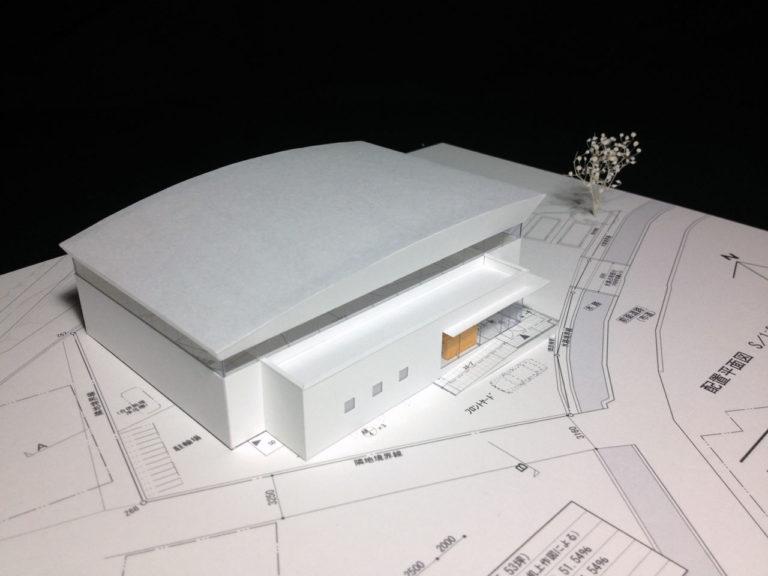いむら体育館:模型3